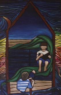 Boat Ride to Heaven Artist helen Beech
